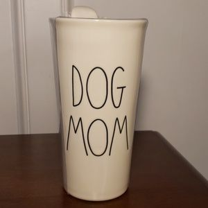Nwt Rae Dunn Dog Mom travel mug
